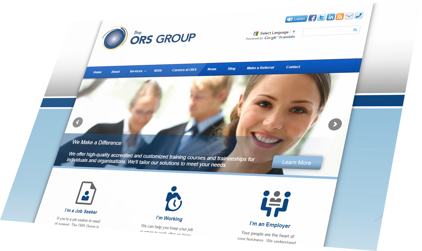 The ORS Group upgrade