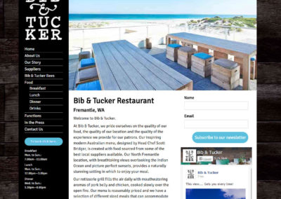 Bib & Tucker Restaurant