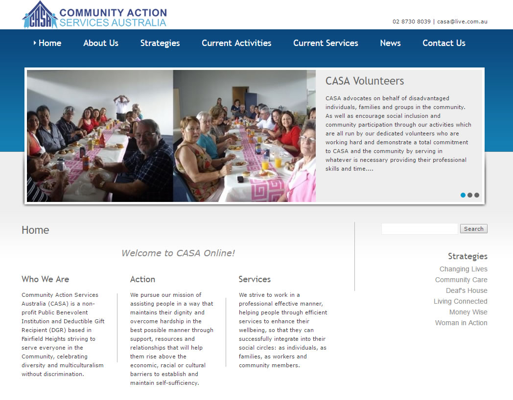 Community Action Services Australia