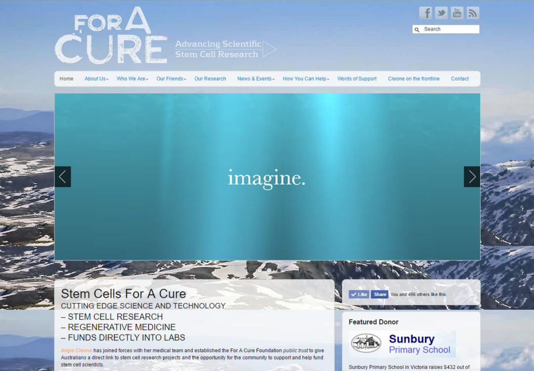 ForACURE - Stem Cell Research