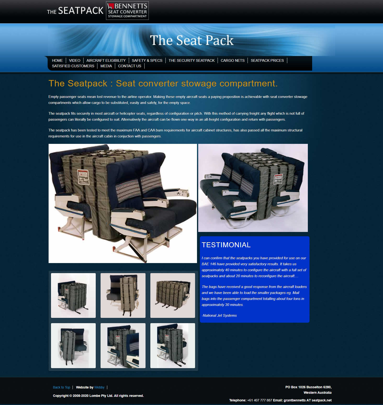 The Seat Pack