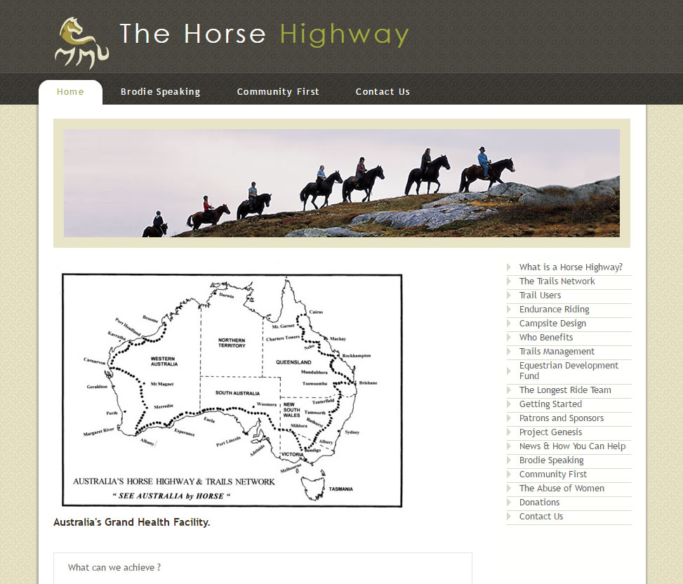 The Horse Highway