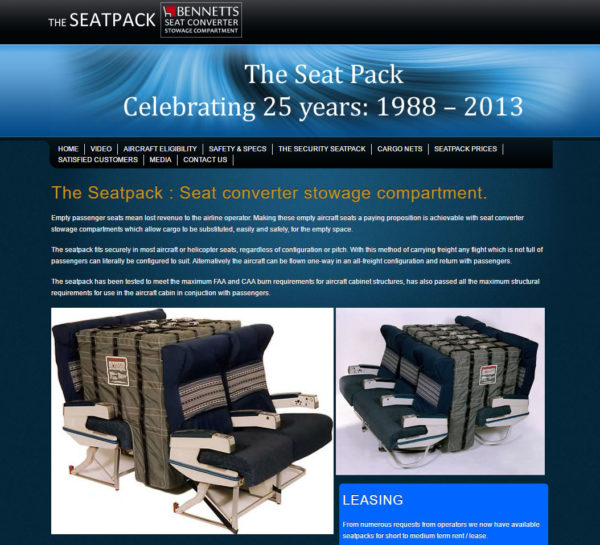 The Seatpack