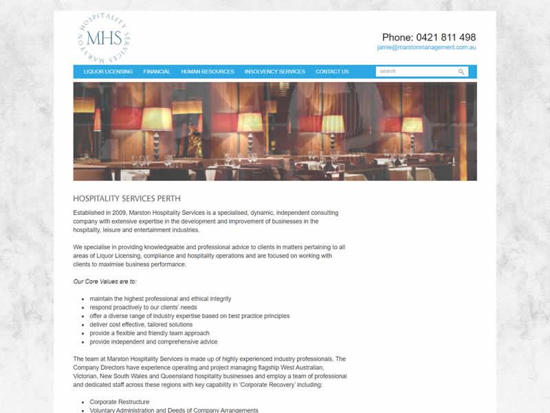 Marston Hospitality Services
