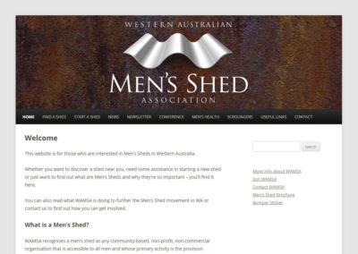 WAMSA – Western Australian Men's Shed Association