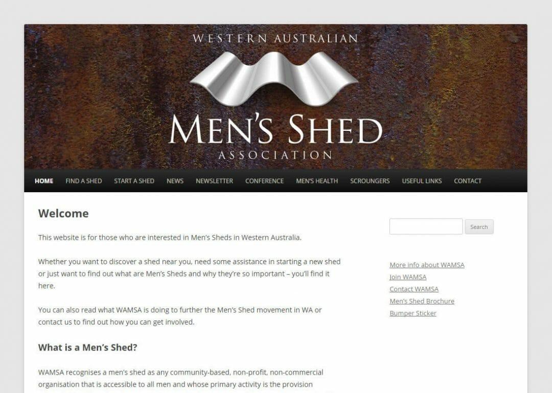 WAMSA WA Men's Shed